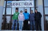 PARTICIPAMOS EN LA OLIMPIADA DE GEOLOGÍA