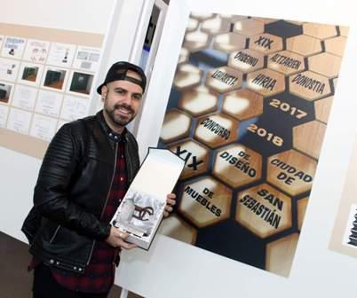 El alumno Mario Jurado López recibe el premio Ciudad de San Sebastián