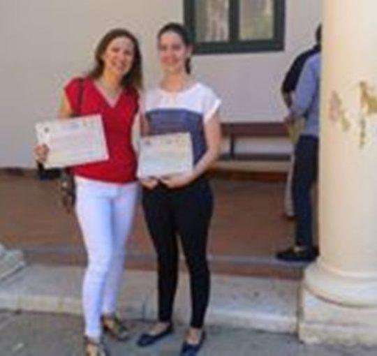 Ana Mª Guerrero de Mora obtiene el quinto premio en la Olimpiada de Economía
