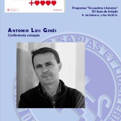 CONFERENCIA Y RECITAL POÉTICO DE ANTONIO LUIS GINÉS
