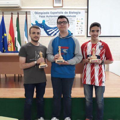 Entrega de los premios del torneo de ajedrez