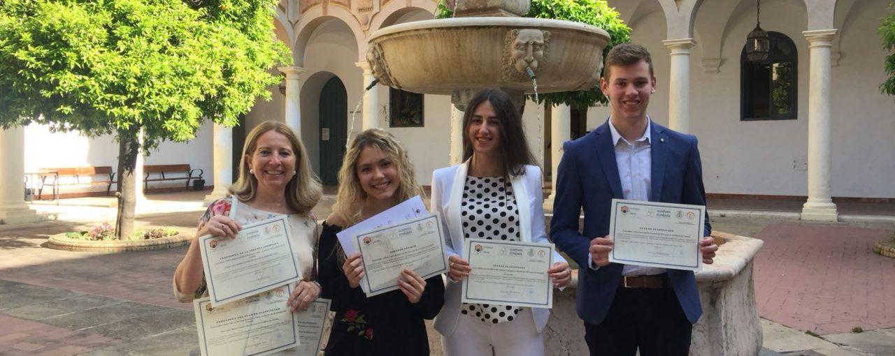 Premios obtenidos en la X Olimpiada de Economía en Córdoba