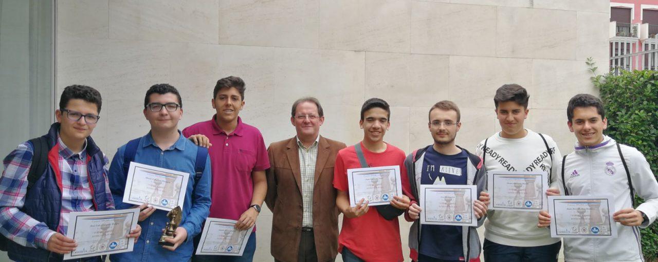 Participamos en el Torneo Intercentros de ajedrez de Lucena
