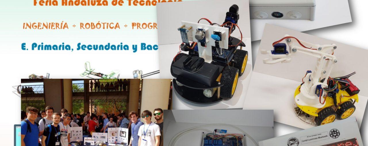 El alumnado de 1º de Bachillerato participa en la FANTEC 2018