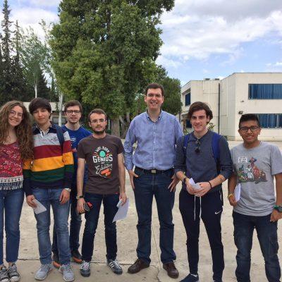Seis alumnos de nuestro centro clasificados en la final nacional de PANGEA
