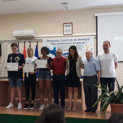 Entrega de premios concurso de vídeos juvenil 400 aniversario Ciudad de Lucena