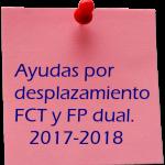 Ayudas por desplazamiento FCT 2017-2018