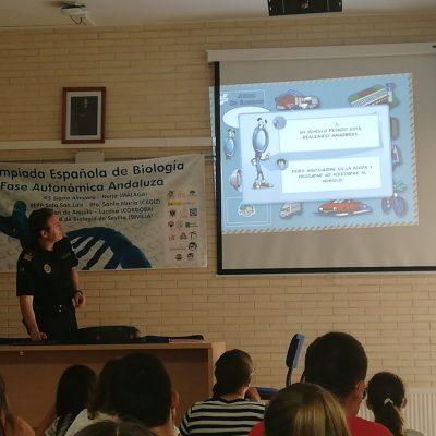 Charla-taller sobre educación vial