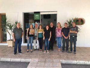 Visita de profesores de Eslovenia