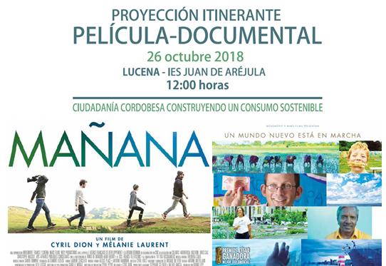 """Proyección de la película """"Mañana"""""""