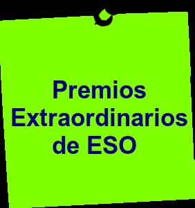 Premios Extraordinarios de ESO