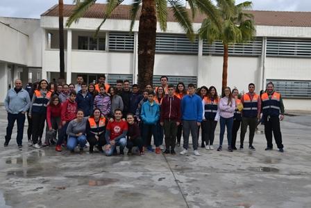 Taller de primeros auxilios impartido por alumnado de 2º EMSA