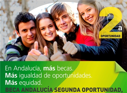 Convocatoria  Beca Andalucía Segunda Oportunidad