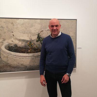 "Exposición de pintura ""El ansia de vivir"", de Rafael Lucena"