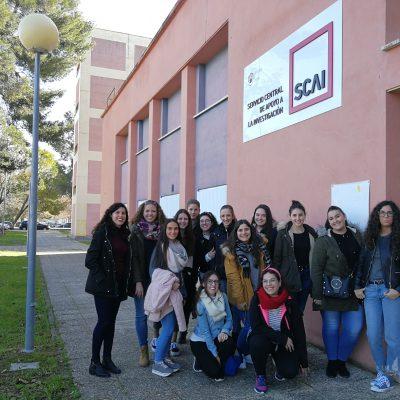 Visita al centro SCAI. Córdoba