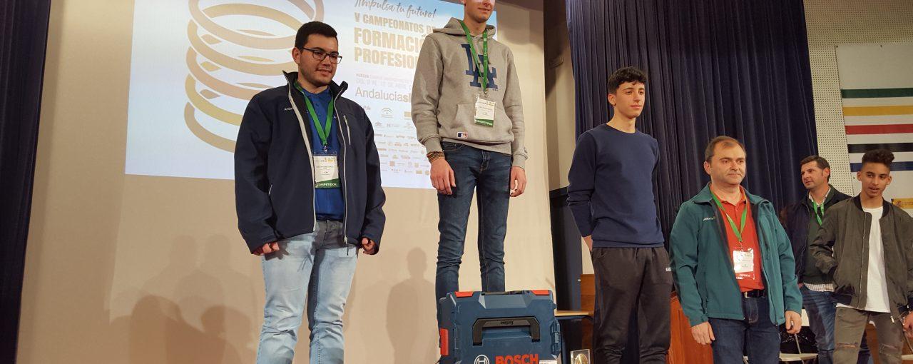 Participación en el campeonato nacional SpainSkills