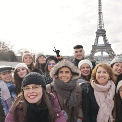 Viaje a Paris. 2º de Laboratorio