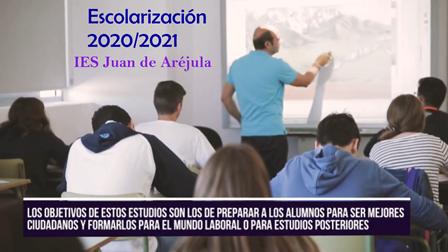 COMUNICADO URGENTE: Plazo de admisión y escolarización para el curso 2020/2021