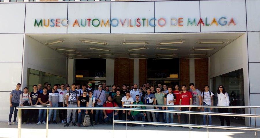 Visita al Salón del Automóvil de Málaga