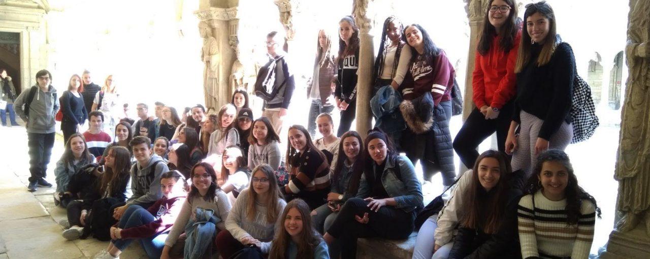 Intercambio con Martigues, los alumnos franceses en España.