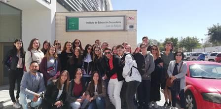 Intercambio con alumnas y alumnos franceses