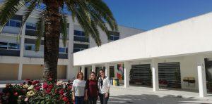 Alumnas francesas de Formación Profesional realizan las prácticas en nuestro centro.