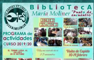 Presentación del programa de actividades de la Biblioteca