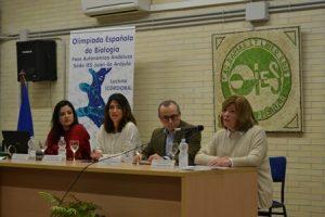 Celebración de la fase autonómica andaluza de las Olimpiadas Españolas de Biología