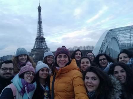 Viaje de estudios a París. 2º de Laboratorio Clínico y Biomédico