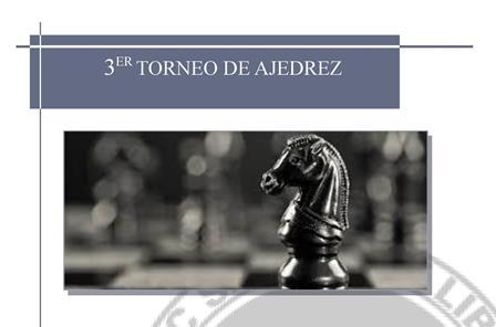 """III Torneo de Ajedrez """"IES Juan de Aréjula"""""""