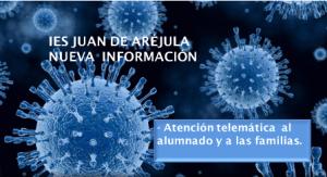 CENTRO EDUCATIVO CERRADO: ATENCIÓN TELEMÁTICA A LAS FAMILIAS
