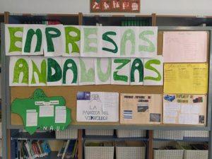 Exposición sobre empresas andaluzas