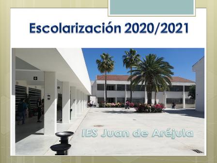 CALENDARIO DEL PROCESO DE ESCOLARIZACIÓN PARA EL CURSO 2020/2021