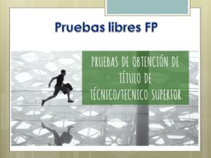 CALENDARIO DE PRUEBAS LIBRES PARA LA OBTENCIÓN DEL TÍTULO DE TÉCNICO EN EMERGENCIAS SANITARIAS