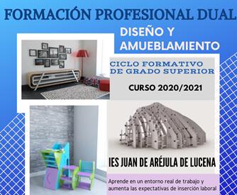 A partir del curso 20-21 se impartirá el CFGS de Diseño y Amueblamiento en modalidad dual
