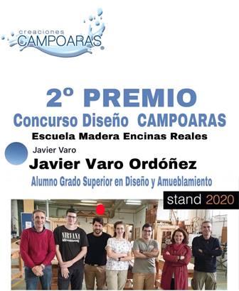 2º PREMIO EN EL CONCURSO DE DISEÑO CREACIONES CAMPOARAS