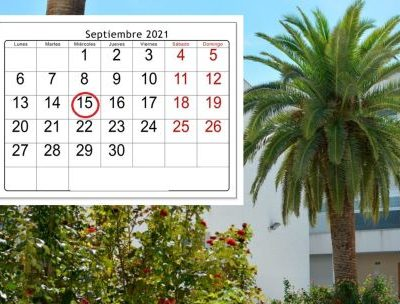 Calendario escolar del curso 2021/2022