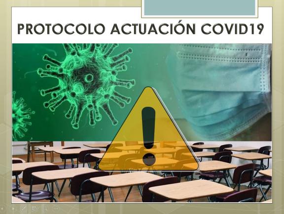 PROTOCOLO DE ACTUACIÓN COVID19