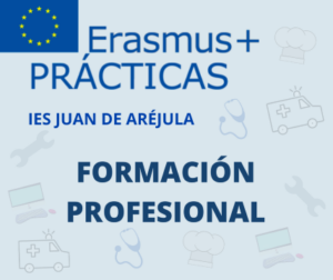 CONVOCATORIA DE BECAS ERASMUS PARA PRÁCTICAS DE FP DE GRADO MEDIO. CURSO 2020/21