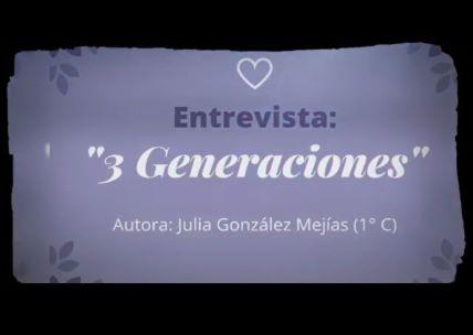 3 GENERACIONES DE MUJERES