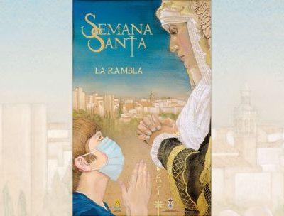 Nuestro compañero Rafael Lucena presenta el cartel de Semana Santa de La Rambla