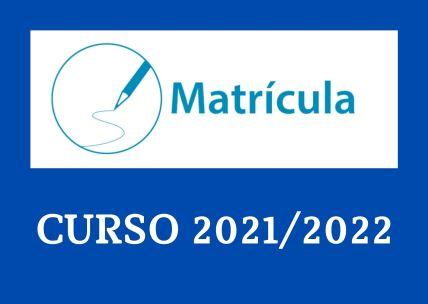 Procedimiento para matricularse en el curso 2021/2022