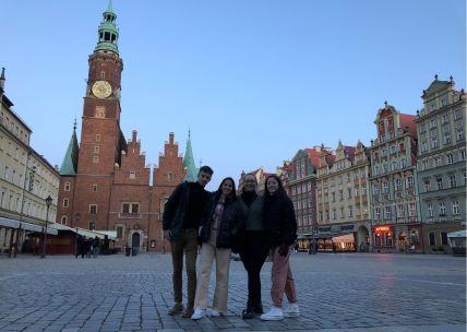 Prácticas en universidades de Wroclaw (Polonia)