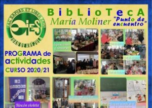 Presentación del programa de actividades de la biblioteca. Curso 2020/2021