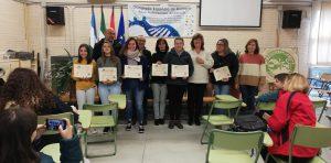 """Entrega de premios """"Concurso marcapáginas por el día contra la violencia machista"""""""